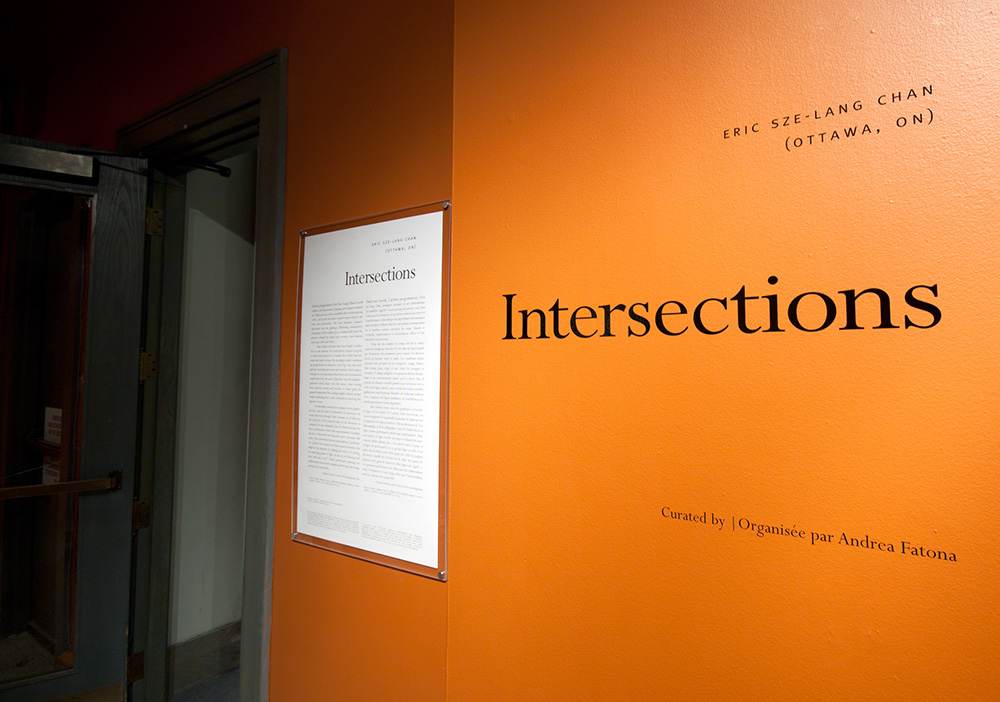 Intersections Ottawa Art Gallery Solo Show