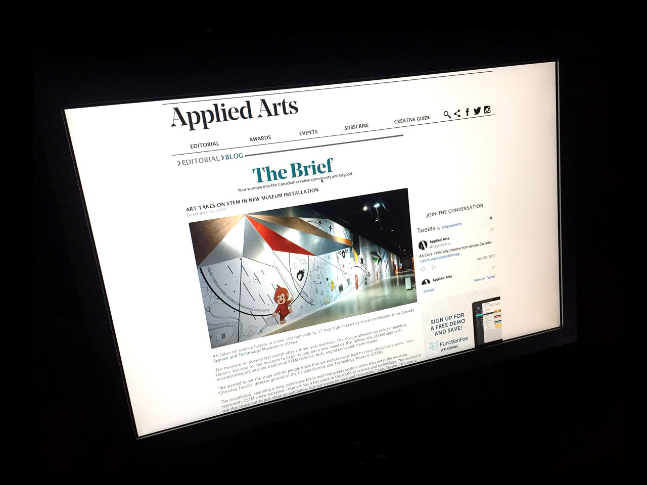 appiled arts